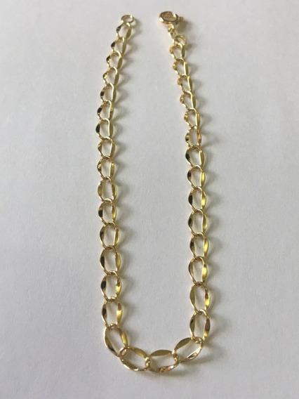 Pulseira 18cm 2,5g Ouro 18k 750