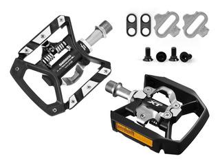 Pedal Shimano Xt Pd-t8000 Plataforma E Clip + Tacos Sh56
