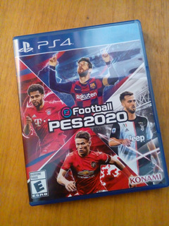 Pes 2020 Ps4 Play Station 4 Pro Evolution Soccer Impecable