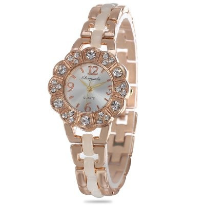 Relógio Feminino Chaoyada Dourado