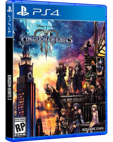 Jogo Kingdom Hearts 3 Iii Ps4 Midia Fisica Cd Original Novo Lacrado Nacional Promoção