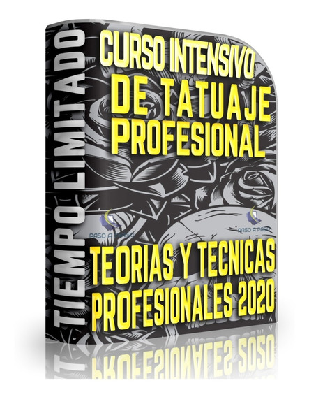 Curso Tatuaje Tattoo Profesional Completo+video+guia+manual