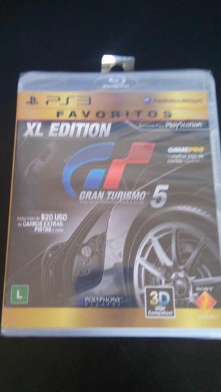 Jogo Gran Turismo 5 Ps3 Lacrado