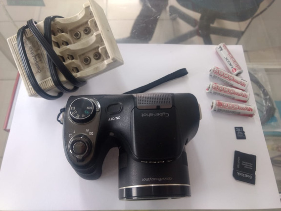 Camera Semi Profissional Sony Dsc-h300, 20.1 Mega Pixels
