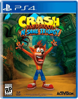 Crash Bandicoot: Trilogy Ps4 Digital (juega Con Tu Perfil)