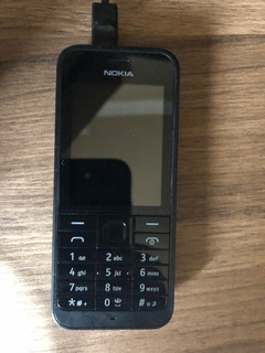 Celular Nokia 208 Preto, De Dois Chips