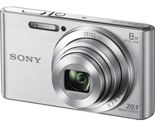 Câmera Sony Dsc-w830 Prata 20.1 Mp Zoom 8x W830 12x S/juros
