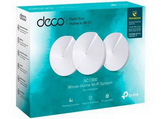 Rputeador Tp-link Deco M5 Home Wi-fi Ac1300 Dual Band 3pack