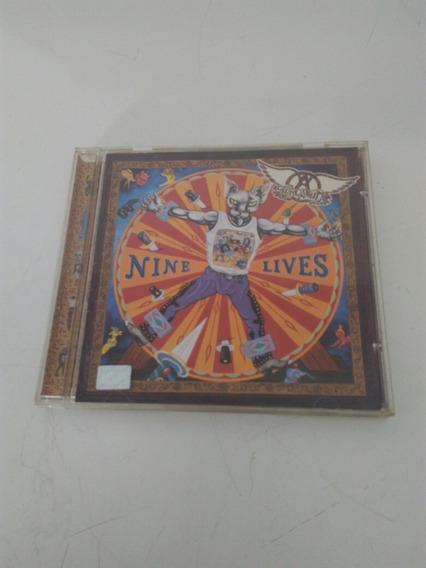 Cd Aerosmith Nine Lives Original Usado Em Ótimo Estado