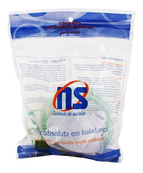 Kit Nebulização Ns Infantil Máscara Peq + Copo + Mangueira
