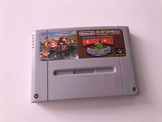Donkey Kong 3 Original Super Famicom