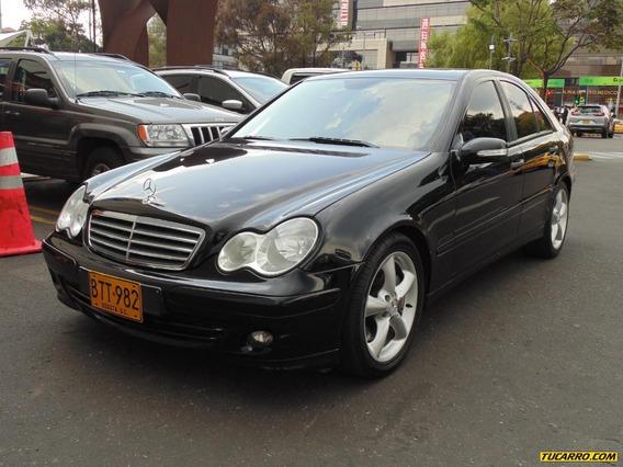 Mercedes Benz Clase C C 180 1.8 At Amg