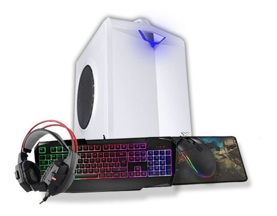 Pc Gamer Hector I3 R7 240 2gb 8gb Hd 500gb + Ssd 160gb Wi-fi