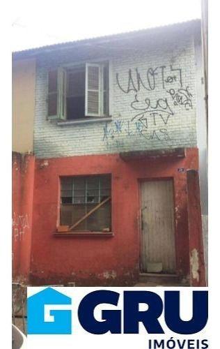 Imagem 1 de 13 de Sobrado Comercial/residencial Para Reforma Com 2 Dorms 1 Vaga Proximo Ao Centro E Comercio.
