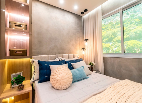 Imagem 1 de 12 de Apartamento Com 2 Quartos, 35 M²  À Venda