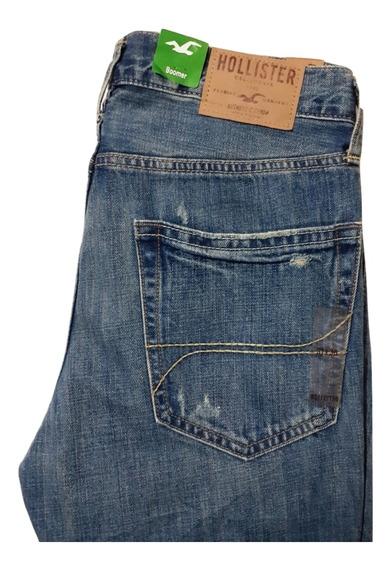 Hollister Jeans Para Caballero 31x30. True.