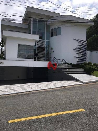 Imagem 1 de 22 de Casa Com 6 Dormitórios À Venda, 616 M² Por R$ 4.800.000,00 - Alphaville - Barueri/sp - Ca6241