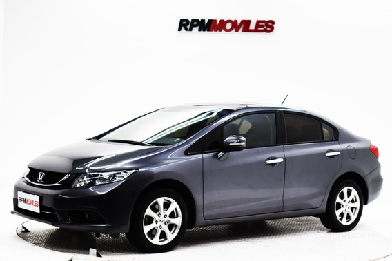 Honda Civic 1.8 Exs At 2015 Rpm Moviles