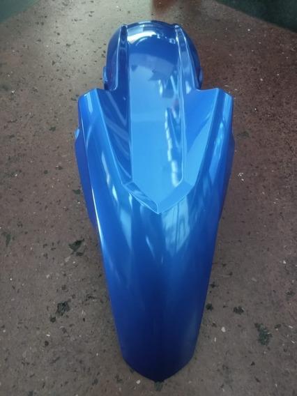Paralama Dianteiro Adaptável Titan Fan 150-160 15/16 Azul