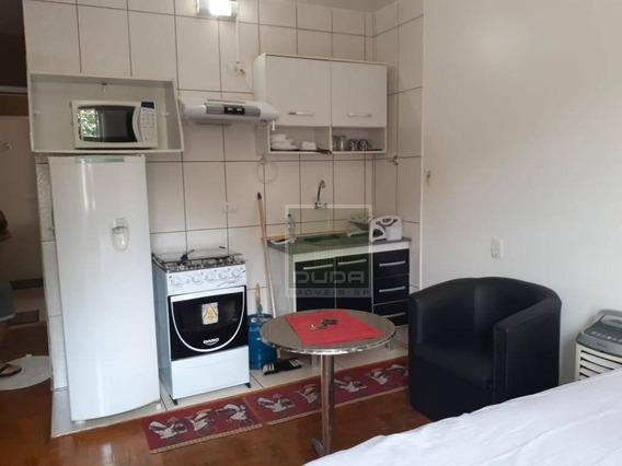 Kitnet Com 1 Dormitório Para Alugar, 33 M² Por R$ 1.950/mês - Brooklin - São Paulo/sp - Ap5139