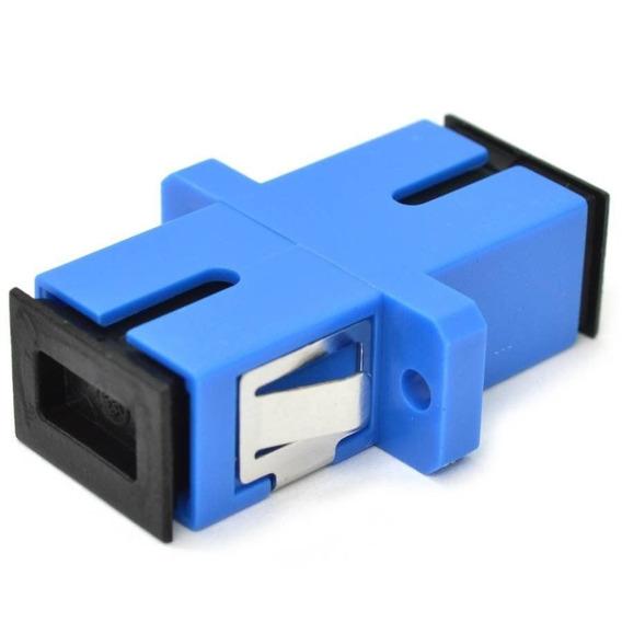 100pçs Adaptador Acoplador Sc/upc Simplex Sm Fibra Optica