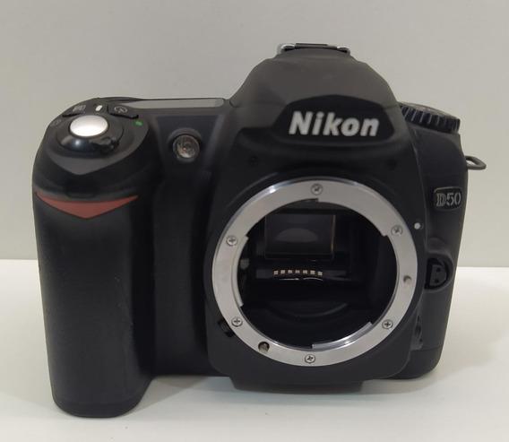 Camera Nikon D50 Com Defeito Ler Descrição