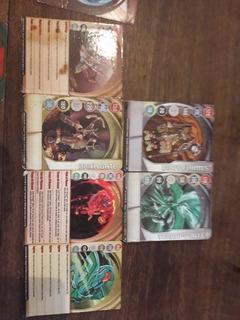Cartas Bakugans Originales. (leer Descripción)