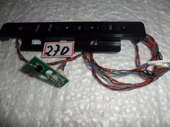 Teclado +sensor Remoto Tv Aoc 39d1440/20