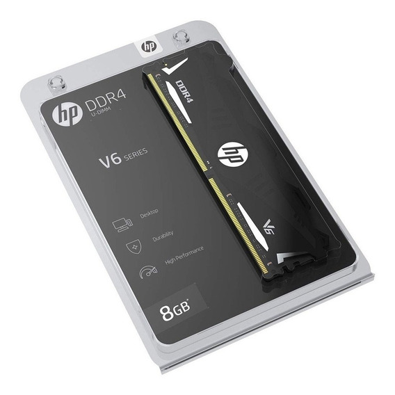 Memoria Ram Pc 8gb Hp V6 Ddr4 3200mhz Dimm Oc Heatsink Cuota