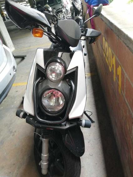Yamaha Bws 125 Blanca Modelo 2014
