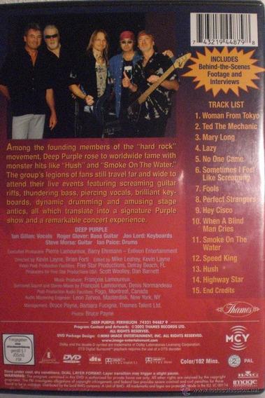 Dvd Deep Purple Perihelion En Stock Nuevo Musicanoba