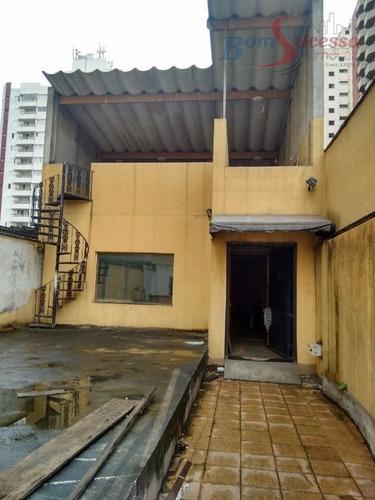Imagem 1 de 14 de Terreno, 350 M² - Venda Por R$ 1.780.000,00 Ou Aluguel Por R$ 9.500,00/mês - Tatuapé - São Paulo/sp - Te0208
