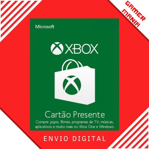 Xbox Microsoft Gift Card R$200 Reais