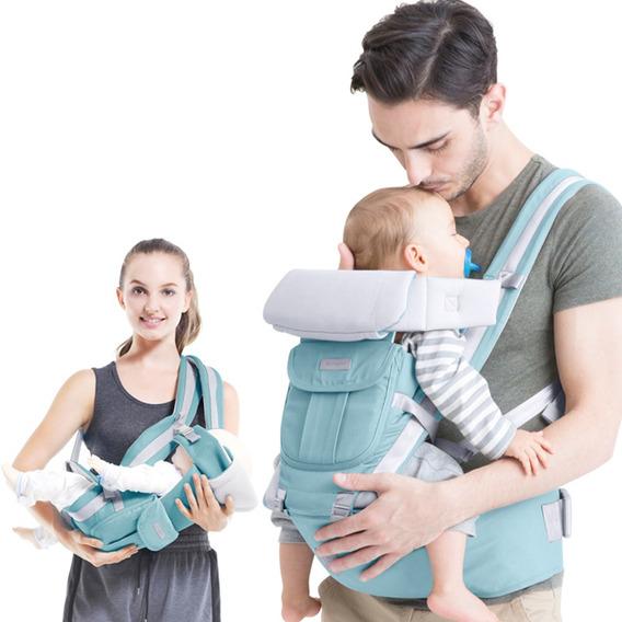 Portador De Bebê Ergonômico-azul
