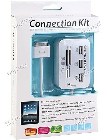Hub Usb E Leitor De Cartão Para iPad Jc2121