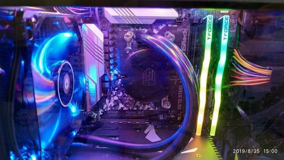 Pc Gamer Ryzen 5 3600 + Rtx 2060+water Cooler+ Nvm.e 256 Gb