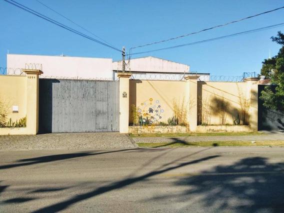 Barracão Com 760 M², 3 Pisos, Vão Livre Mais Escritórios, Perto Av Das Torres, Boqueirão, Curitiba. - Ba0005
