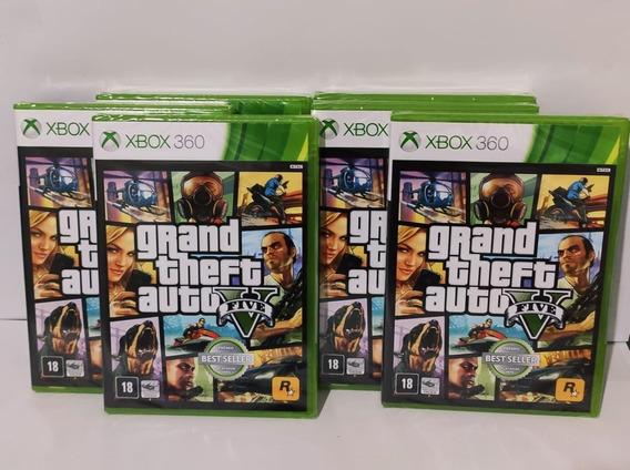 Gta Xbox V 360 Original Novo Lacrado Mídia Física /pt