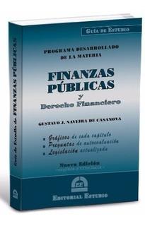 Guia Finanzas Publicas Y Derecho Financiero
