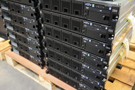 Ibm X3650 M4 Eight Core E5-2640 V2 2.0ghz 64gb Ram 2 Hds 300
