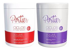 Kit Portier Botox Ciclos Mask + Violet - 2 Produtos
