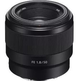 Lente Sony 50mm F1.8 E-mount Full Frame - Lacrada - C/ N.f