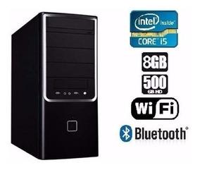 Cpu Gamer I5 3ª G+1155 H61+500hd+8gb+fonte 500 + Tec+mouse