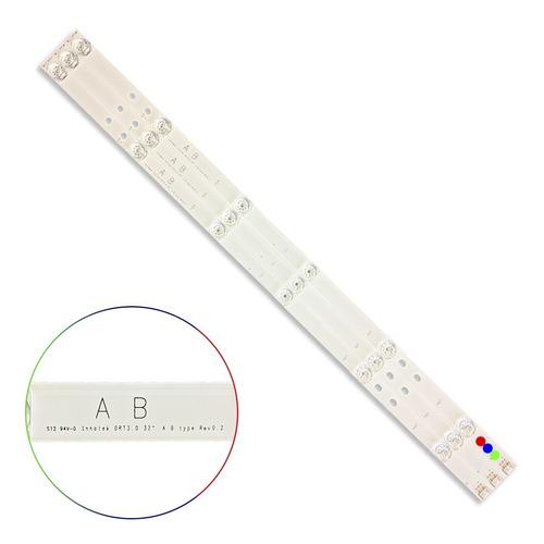 Kit Leds LG 32lf550b, 32lf580b, 32lf595b - Alum Gen, Nuevo.