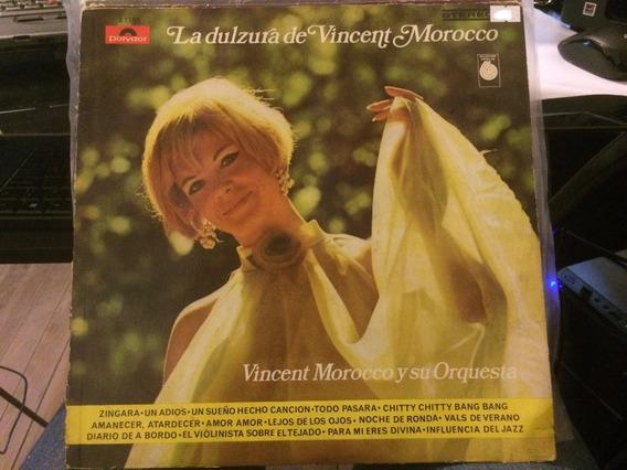 Vinilo Vincent Morocco Y Su Orquesta La Dulzura De Vincent M