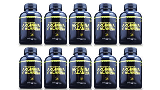 20 Arginina + Alanina 2000caps 1000mg Vasodilatador