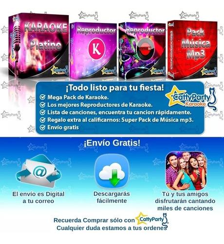 Karaoke Mega Pack Mercado Libre