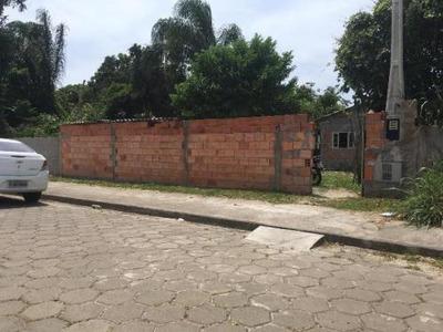 Terreno No Jardim Palmeiras, Em Itanhaém, Com 1 Dormitório.