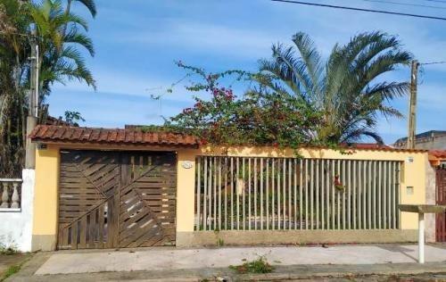 Imagem 1 de 14 de Casa No Litoral Com 3 Quartos Em Itanhaém/sp 6931-pc