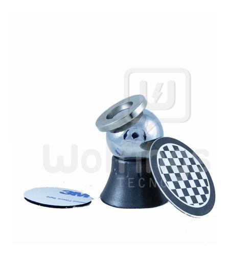 Soporte Holder De Celular O Gps Para Auto Magnetico Con Iman